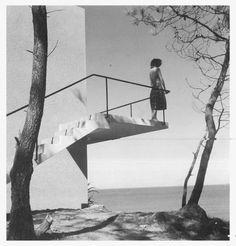 """Casa """"La Rinconada"""". Punta Ballena -Uruguay- 1948 Arquitecto: Antonio Bonet Castellana"""