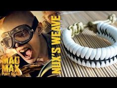 Nux the Warboy's Weave Mad Max Style Paracord Bracelet Tutorial - YouTube