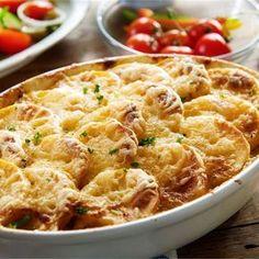 Zapiekanka ziemniaczana z mięsem mielonym American Food, Macaroni And Cheese, Food And Drink, Dinner, Ethnic Recipes, Pictures, Diet, Mac Cheese, Dining