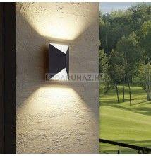 Eglo Predazzo – 93994 – kültéri falra szerelhető LED lámpa, antracit, 2x2,5W, 2x180 lm, 3000K melegfehér