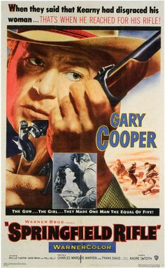 1952 Movie Posters   Springfield Rifle Movie Posters From Movie Poster Shop