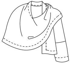 271 Sunset Wrap - PDF pattern – Folkwear