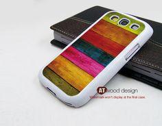 Samsung Galaxy S3 phone Case Colorized wood cases Samsung Galaxy S3 i9300 Case Samsung cases Galaxy SIII unique Case. $14.99, via Etsy.