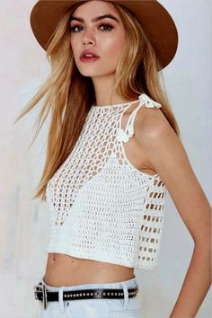 Click to view pattern for - Crochet top