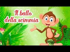 Il ballo della scimmia - Canzoni per bambini di Mela Music - YouTube