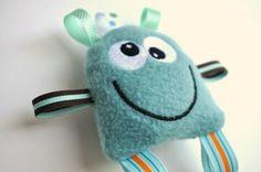 Monster Doll  Monster Plush  Monster Plush Toy  by BirdieAndDot, $8.00