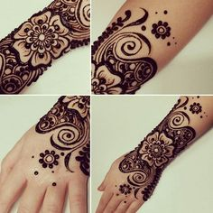 Best Floral Mehndi Designs with Step by Step Video Tutorial Tatoos, Henna Tattoos, Henna Art, Mehendi, Floral Motif, Design Tutorials, Mehndi Designs, Tattoo Inspiration, Things To Come