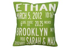 Personalized  Pillow - great gift idea!  Omg. Perfect! Has my son's name on it and everything!!