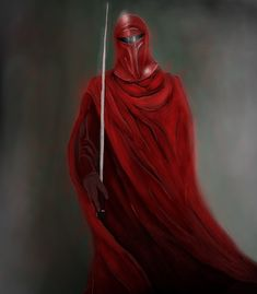 Another tablet work featuring the Imperial Royal Guard from Star Wars.