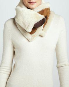 Uptown  Fur Snood, Chestnut by UGG Australia at Neiman Marcus.