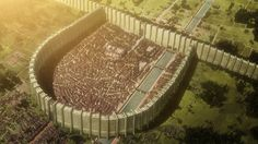 Over the course of its three season run, Attack on Titan has quickly become one of the most popular anime series of all time. Set in a world where humanity is trapped inside walls by man-eating Titans, the show Attack On Titan Game, Attack On Titan Season, Attack On Titan Fanart, Titan World, Anime Dubbed, Aot Wallpaper, Anime Reviews, Fantasy City, Anime Life