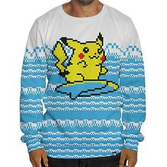 Beloved Shirts presents the Surfing Pika Sweatshirt