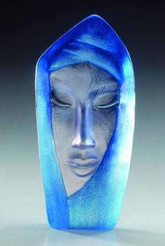 glass art. batzeba by mats jonasson.