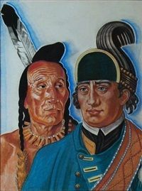Image result for winold reiss native american portraits