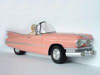 Pink Cadillac Car Wall Decor with Marilyn Monroe