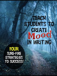 Humorous eerie gloomy or whimsical creating mood in writing is what gives it life Find out four ways to help your students develope this important writing skill plus vide. Writing Strategies, Writing Lessons, Writing Resources, Teaching Writing, Writing Skills, In Writing, Writing Activities, Writing Ideas, Opinion Writing