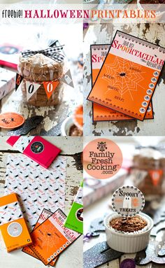 *FREEBIE* DIY Halloween Printables on FamilyFreshCooking.com © MarlaMeridith.com