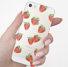 Cute strawberry IPhone case