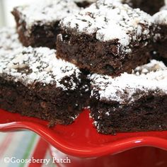 Gooseberry Patch Recipes: Triple Fudgy Brownies from Best-Ever Cookies Cookbook