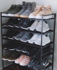 Sneaker Rack    Follow @filetlondon for more street style #filetclothing