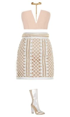 """#628"" by diva-996 on Polyvore featuring Balmain and Eddie Borgo"