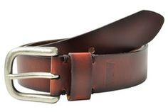 Levi's Burnished Edges Leather Bridle Belt