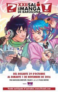 El Blog de Cómics Javier: Cómics Javier en el Salón del Manga 2016