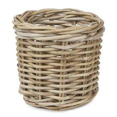 Kubu Small Round Storage Basket at Laura Ashley