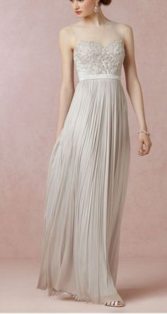 Gorgeous gown by @BHLDN Weddings Weddings