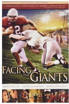 Facing the Giants on DVD