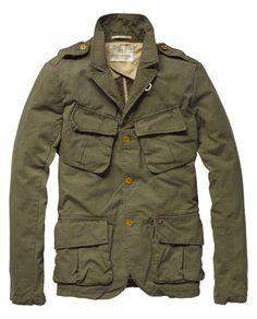 """Dressed """"Army"""" blazer - Scotch & Soda"""