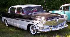 "1957 Hudson Hornet with Arbib's ""V"" form styling"
