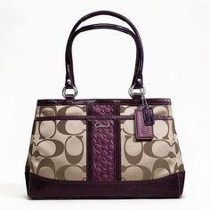How to Clean a Canvas Coach Handbag