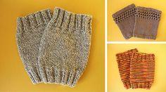 TUTORIAL: Knit Boot Topper Pattern - makeanddogirl.com