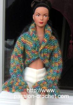 29338634616 9 images inspirantes de tuto vêtements tricot pour  ken ...