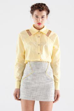 kuwaii yellow and grey