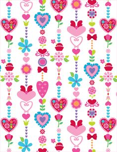Pattern Designs by Claire Edwards, via Behance Heart Wallpaper, Paper Wallpaper, Cellphone Wallpaper, Flower Wallpaper, Wallpaper Backgrounds, Iphone Wallpaper, Cool Wallpaper, Pattern Paper, Pattern Art