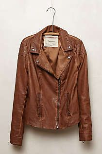 Anthropologie - Fayette Vegan Leather Jacket