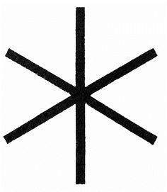Hagal - Rune Ursprung und Bedeutung: altnordisches Schriftzeichen (Runenalphabet), Symbol für die Schöpfungskraft des Weltalls, Vermittler zwischen Mikro- und Makrokosmos. Wirkungen und Anwendungen: Verleiht Schutz und spirituelle Kräfte, dient zur positiven Verbundenheit mit den erhaltenden Kräften des Kosmos, leitet ungünstige Feinkraftströme ab. Verstärkt durch seine Abschirmung negativer Einflüsse die Ich-Kräfte und verbessert so das Durchsetzungsvermögen. Wird bei ErdstrahlHagal - Rune,