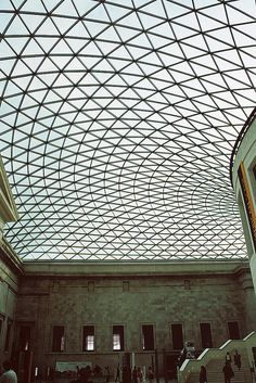 The Great Court - The British Museum, London