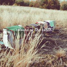 Przedstawiamy kolekcję #PSTRK Fall/Winter 2015-2016 COLOURS OF THE EARTH, kolekcję, która wychodzi prosto z natury. Naszą inspiracją były kolory ziemi- tej trawiastej, porośniętej zbożem czy też pokrytej jesiennymi liśćmi. Sprawdźcie koniecznie na http://bit.ly/ColoursOfTheEarth