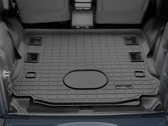 Cargo / Trunk Liner are custom fit cargo trunk mats to keep spills, dirt and grease off your vehicle's interior. Available for Cars, SUVs and Minivans. Jeep Wrangler Interior, 2015 Jeep Wrangler, Jeep Wrangler Accessories, Jeep Accessories, 2 Door Jeep, Jeep Camping, Car Goals, Rear Seat, Car Detailing
