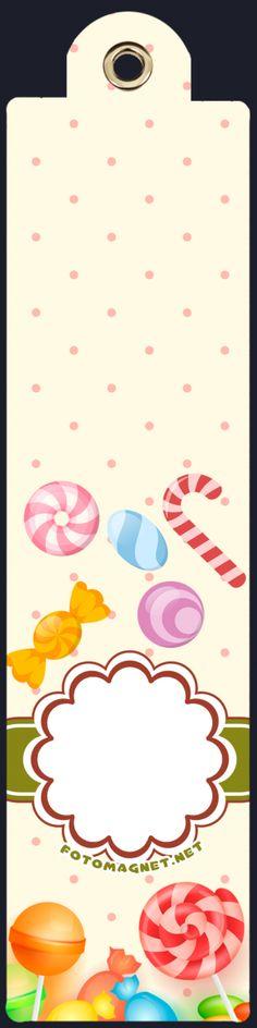 Doğum Günü Magnetleri Fotomagnet Kargo Bedava - Temalı Parti Süsleri > Kız Çocuk doğum günü Partisi > Şekerleme Temalı Parti Süsleri > Renkli Şekerlemeler Temalı Kitap Ayracı