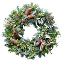 norway spruce cone wreath