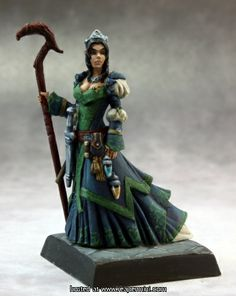 60138 : Sheila Heidmarch - Venture Captain by Reaper Miniatures for their Pathfinder range. Available in the UK from Miniature-Heroes. Reaper Miniatures, Fantasy Miniatures, 28mm Miniatures, Fantasy Figures, Fantasy Rpg, Fairy Drawings, Dragon Rpg, Pathfinder Rpg, Mini One