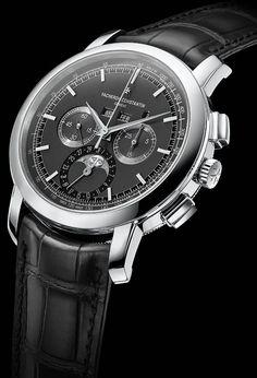 La Cote des Montres : La montre Vacheron Constantin Traditionnelle Chronographe…