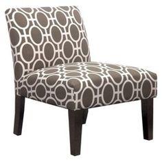 Avington Armless Slipper Chair - Trellis