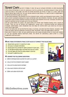A2 Reading comprehension activity. - ESL worksheets