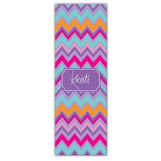 Sherbert Ziggy Personalized Yoga Mat