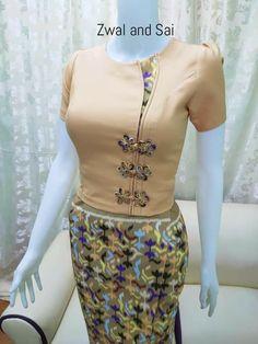 Myanmar Dress Design, Designer Dresses, Designer Gowns